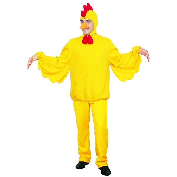 Карнавальный костюм Петух желтый арт KKVm-87g