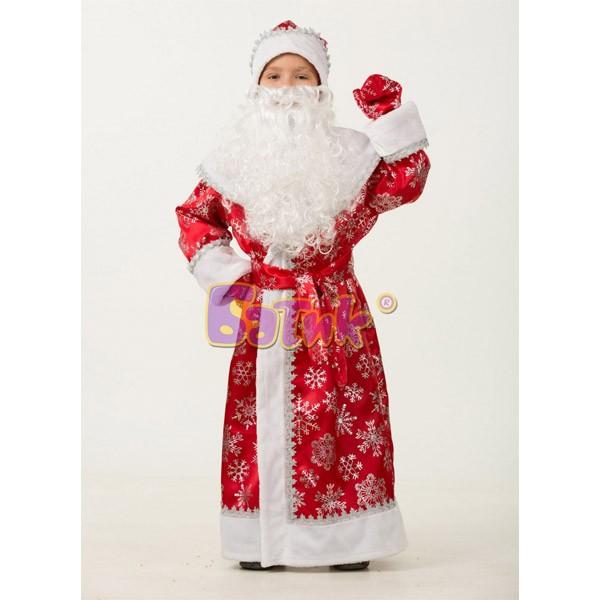 Костюм Дед Мороз сказочный красный