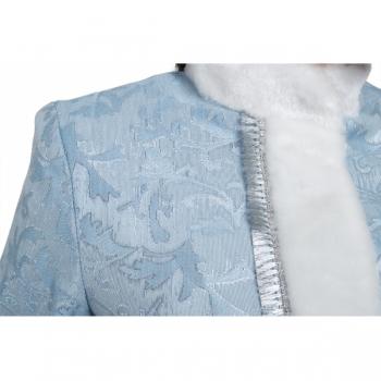 Снегурочка Класcическая сантун голубой