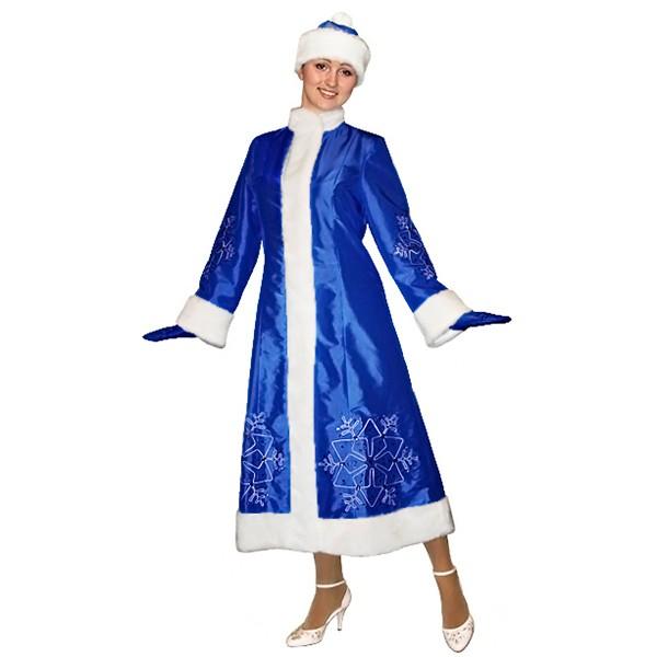 Карнавальный костюм Снегурочки арт S-109s