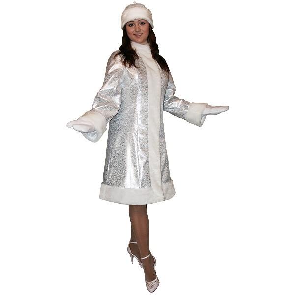 Карнавальный костюм Снегурочки S-201ser