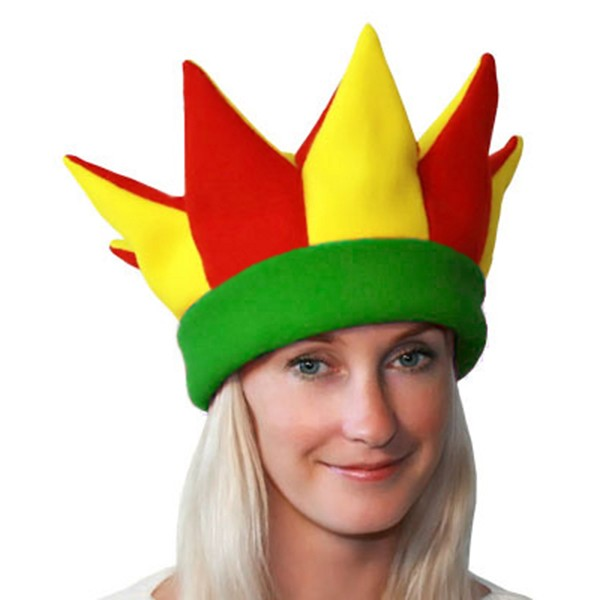 Карнавальная шапка Скомороха арт SHA-12