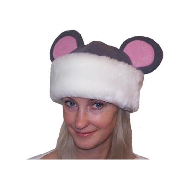 Карнавальная шапка Мышка арт SHV-1s