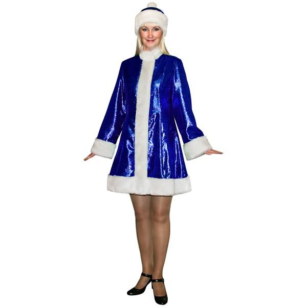 Карнавальный костюм Снегурочки мини SМ-208s